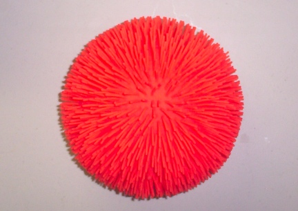Orange Exercise Ball